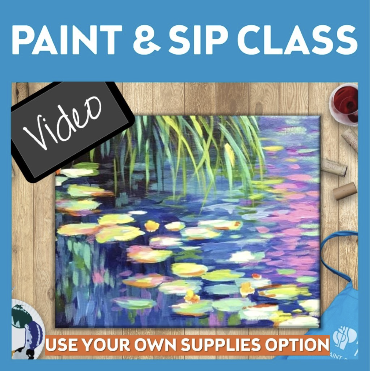 Paint & Sip Video