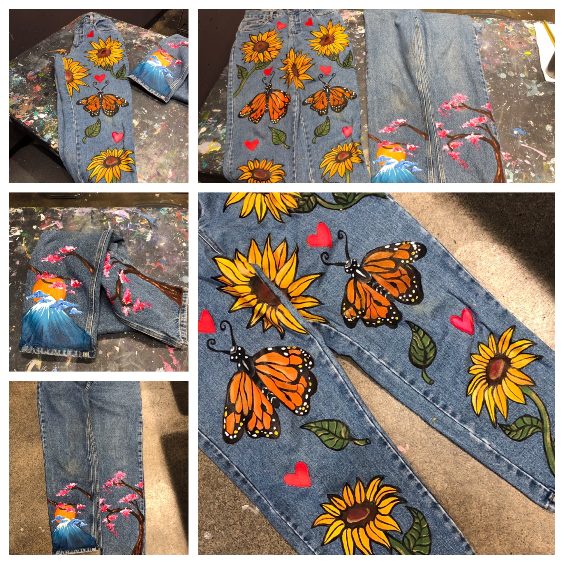 Painted Jeans Classes!!