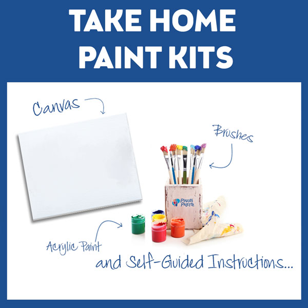 Paint With Us - From Home!