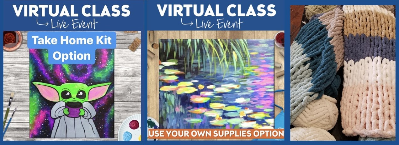 Pinot's Palette Virtual & Take Home Classes!
