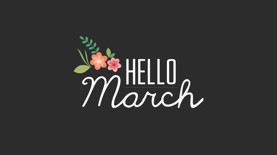 Hello March - Special Events!