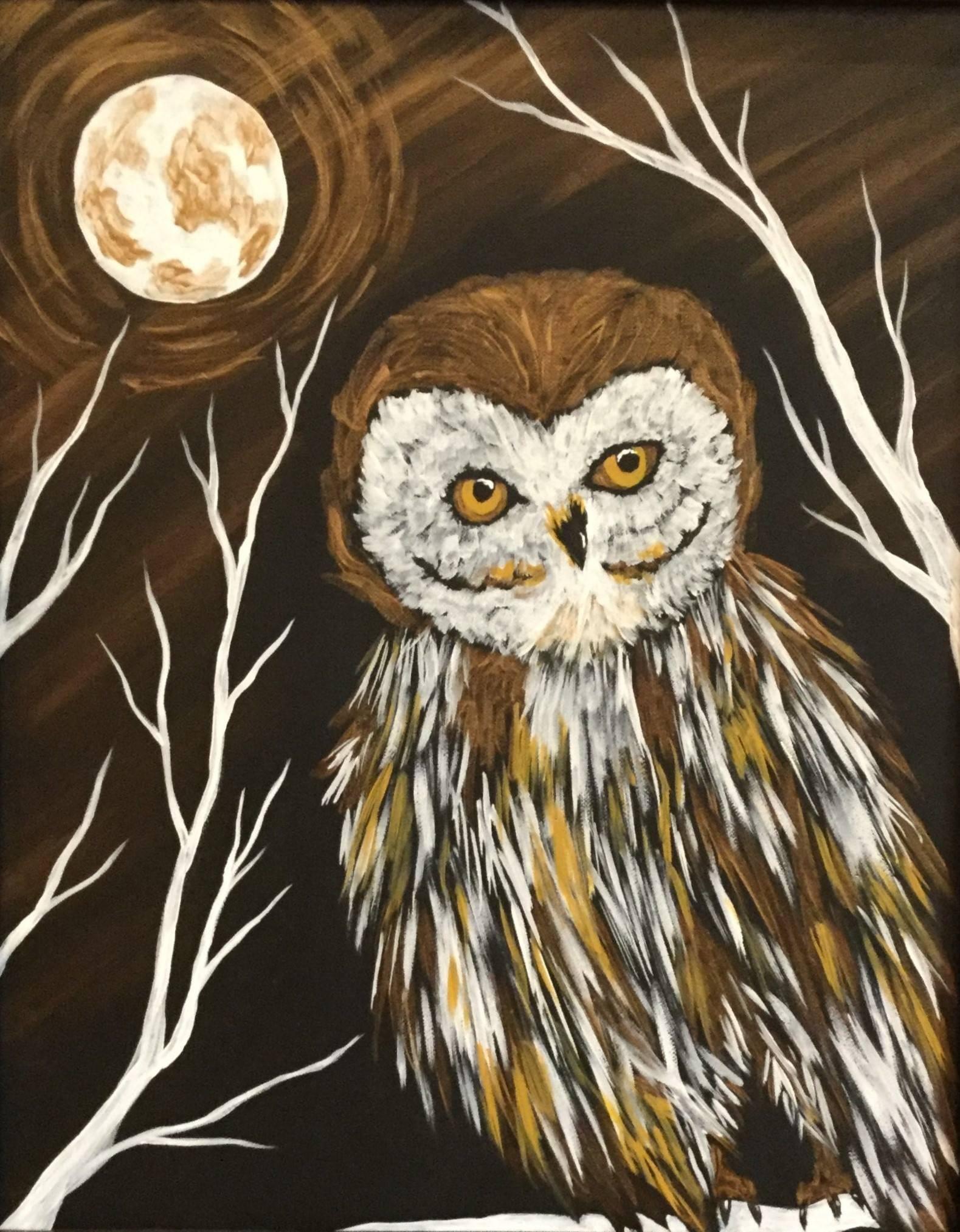 Golden Night Owl