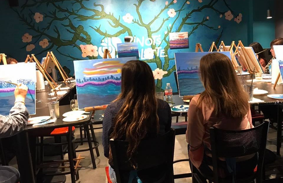 girls night out paint party