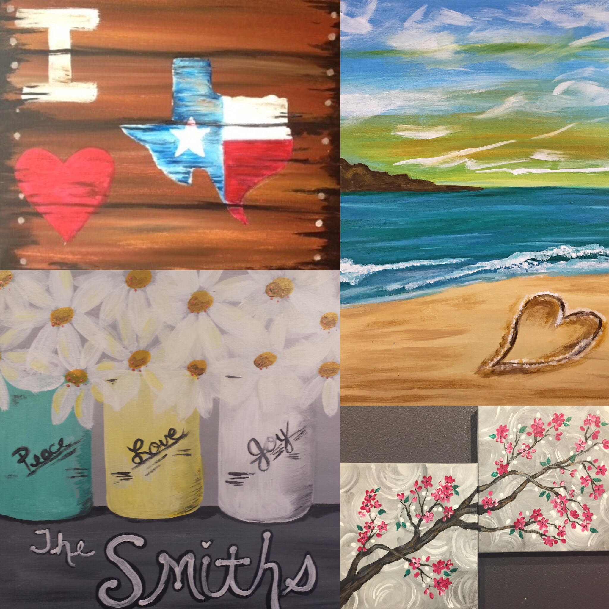 upcoming paint and sip events