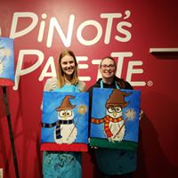 gift giving with a twist at Rowlette paint and sip