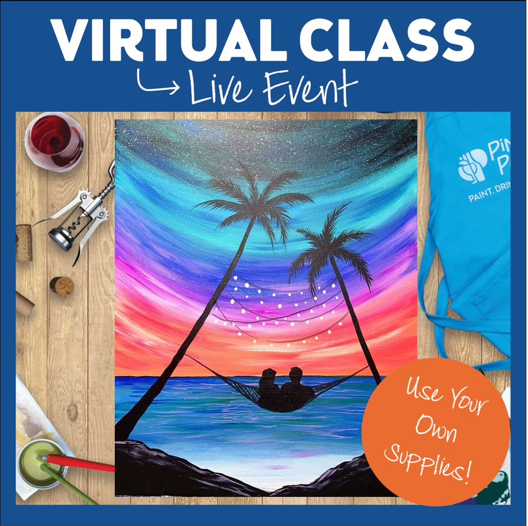 VIRTUAL EVENT: NO SUPPLIES INCLUDED!