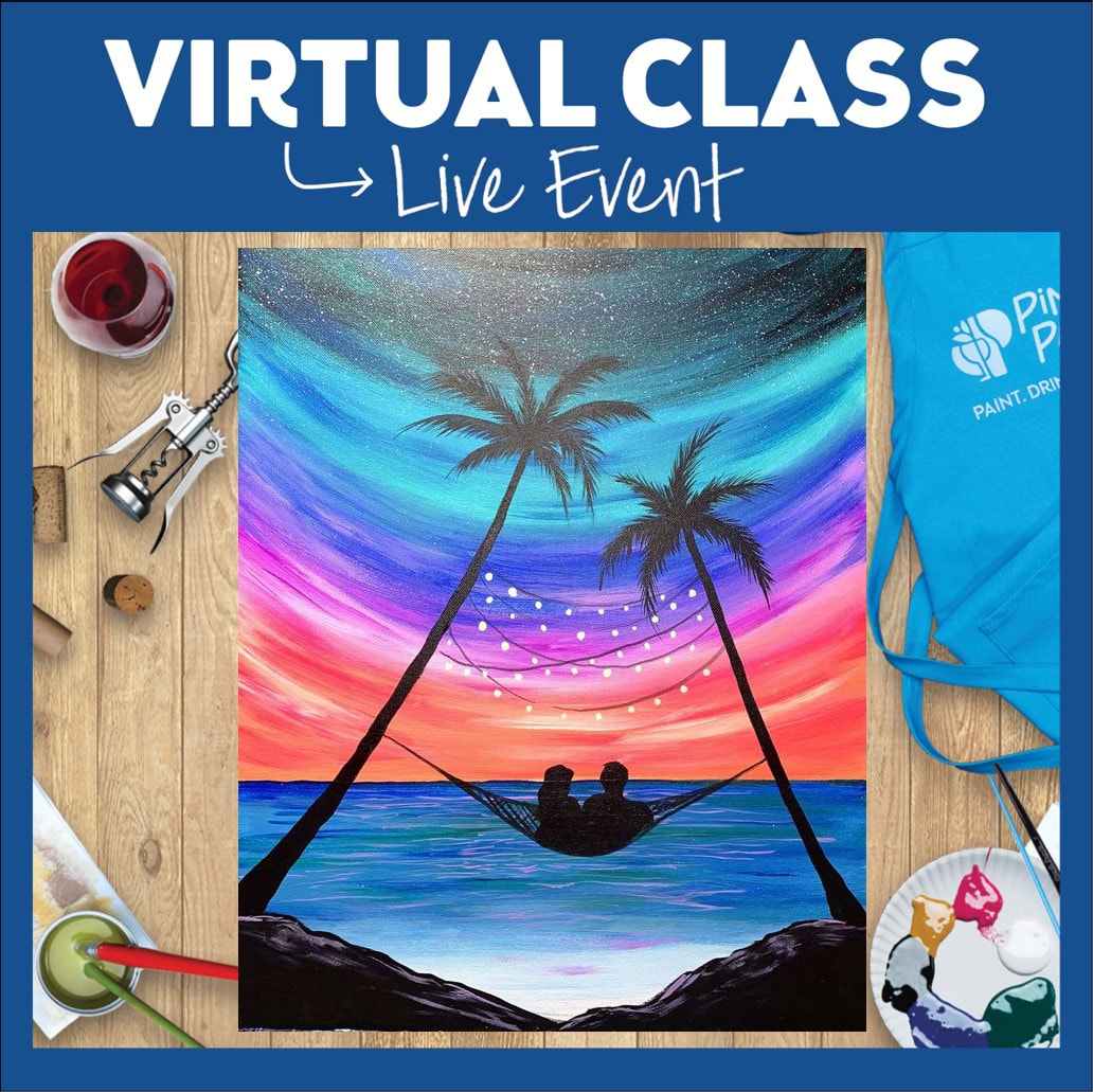 Virtual Class + Pick Up Supplies!