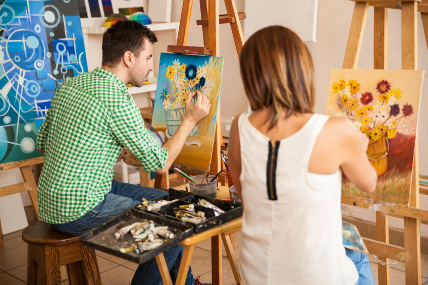 home decorating art classes in Richardson TX