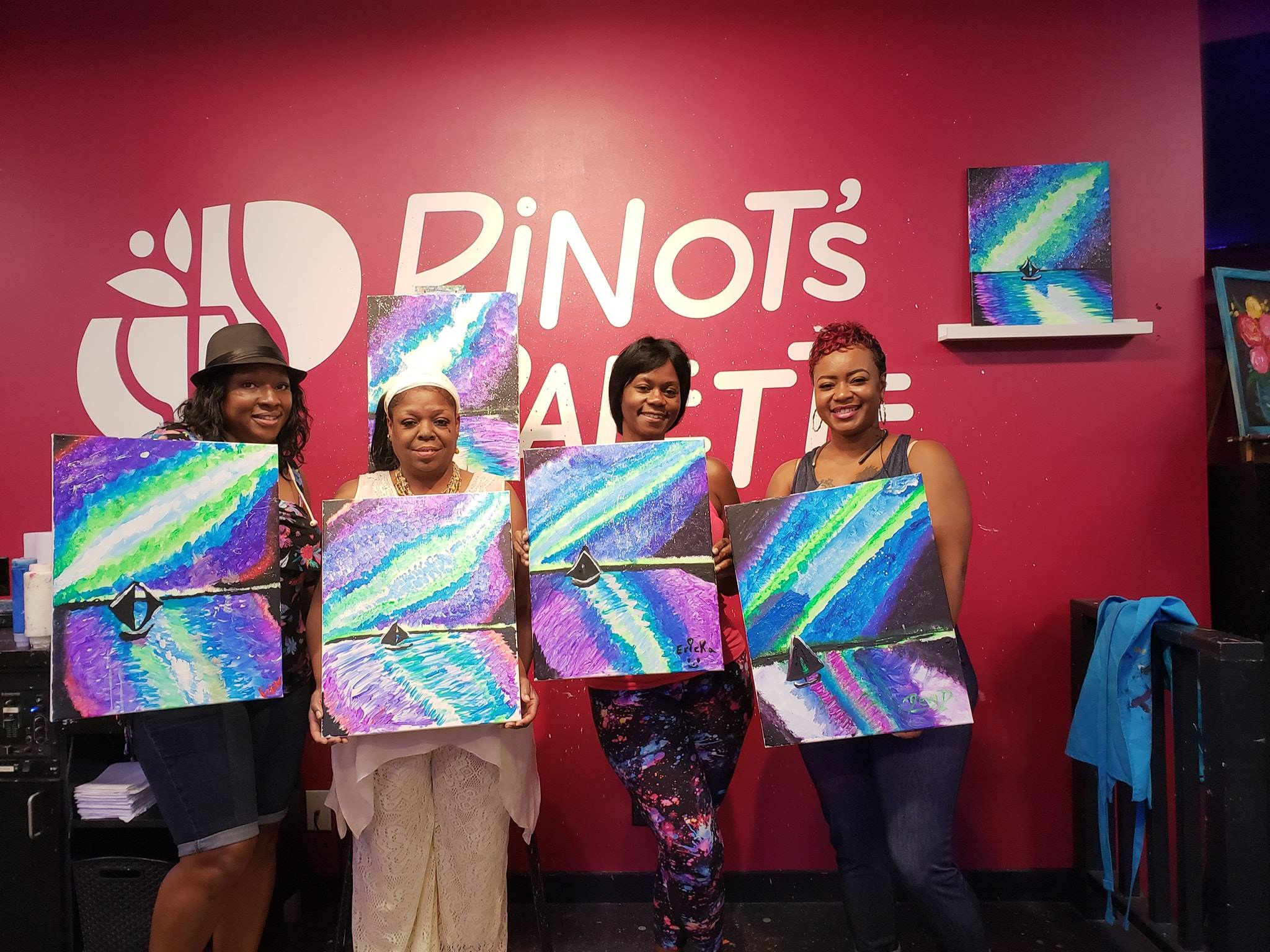 put a twist in your evening with Plano painting class