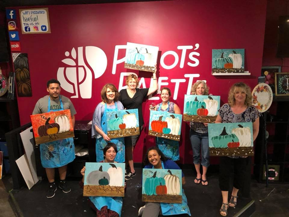find an inspiring twist with painting party in Plano