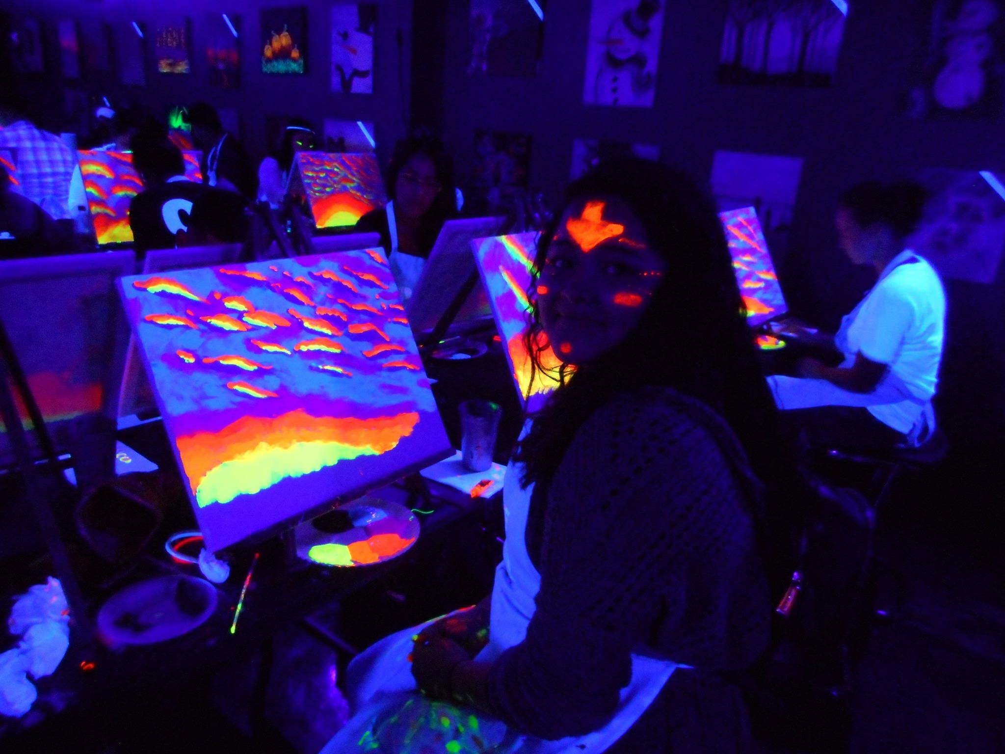 Put a twist in routine with a paint party in Richardson