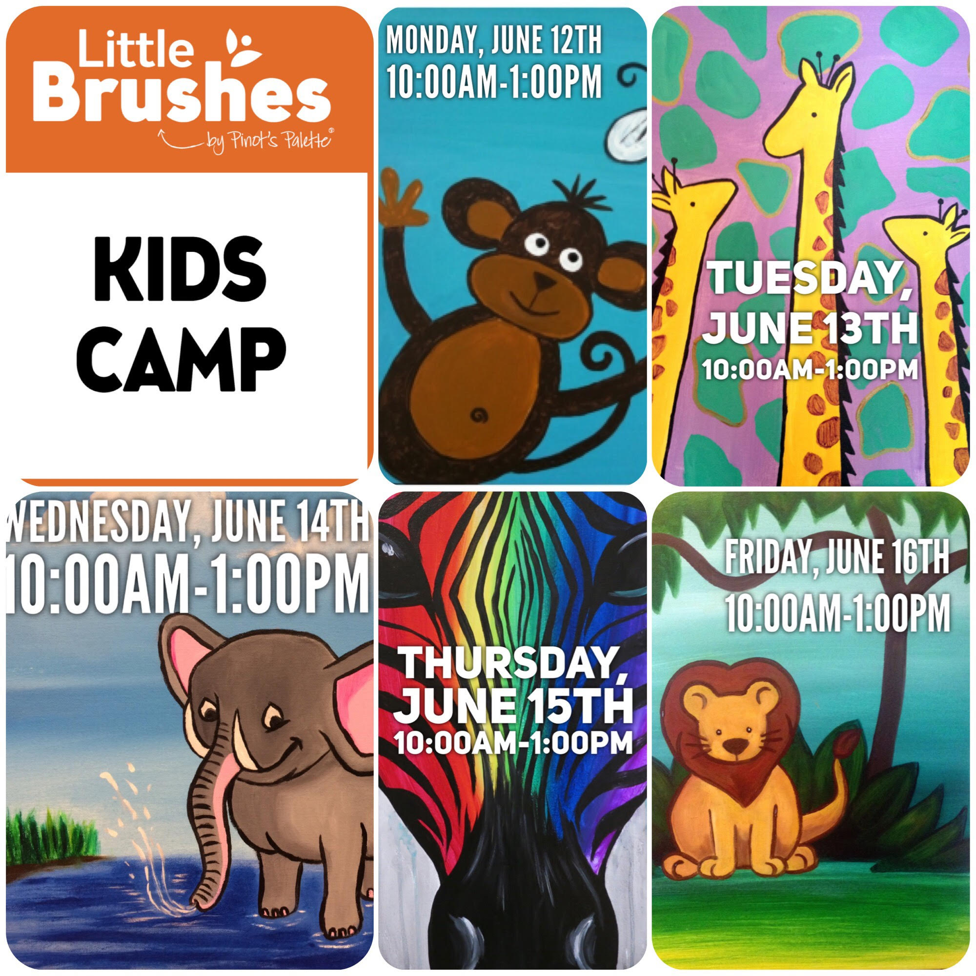 summer camp for creative kids