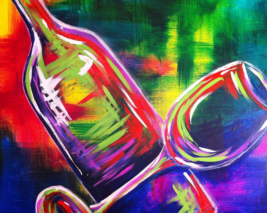 twist up the night with painting class in Richardson