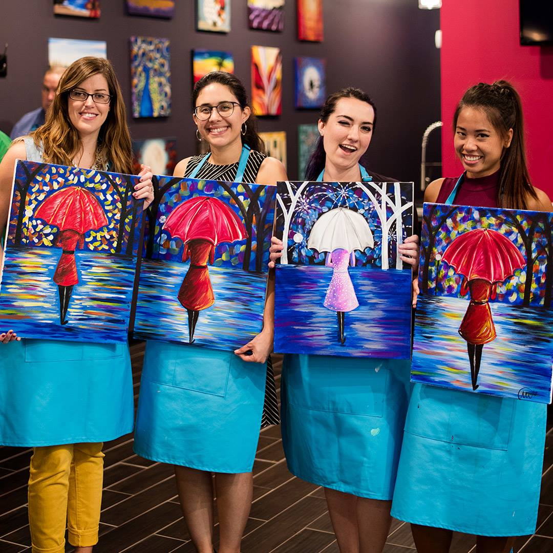 budget friendly paint night in Garland