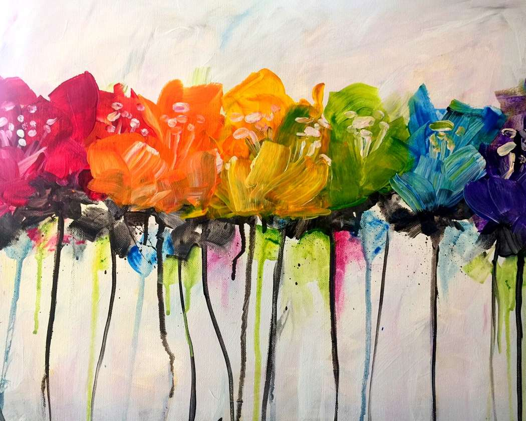 twist your inner artist with Richardson paint night
