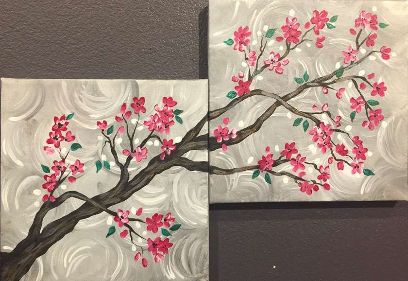 celebrate friendship at paint and sip birthday party places in Garland TX