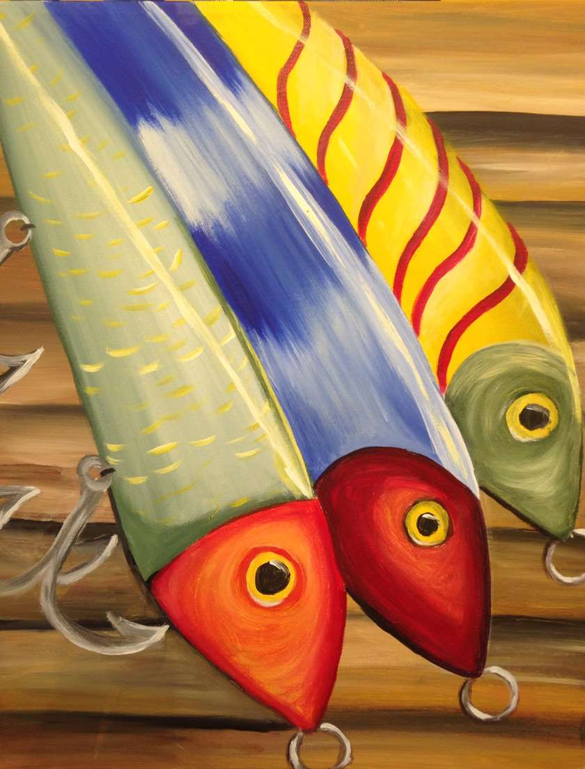 fundraise with a twist with Richardson sip and paint