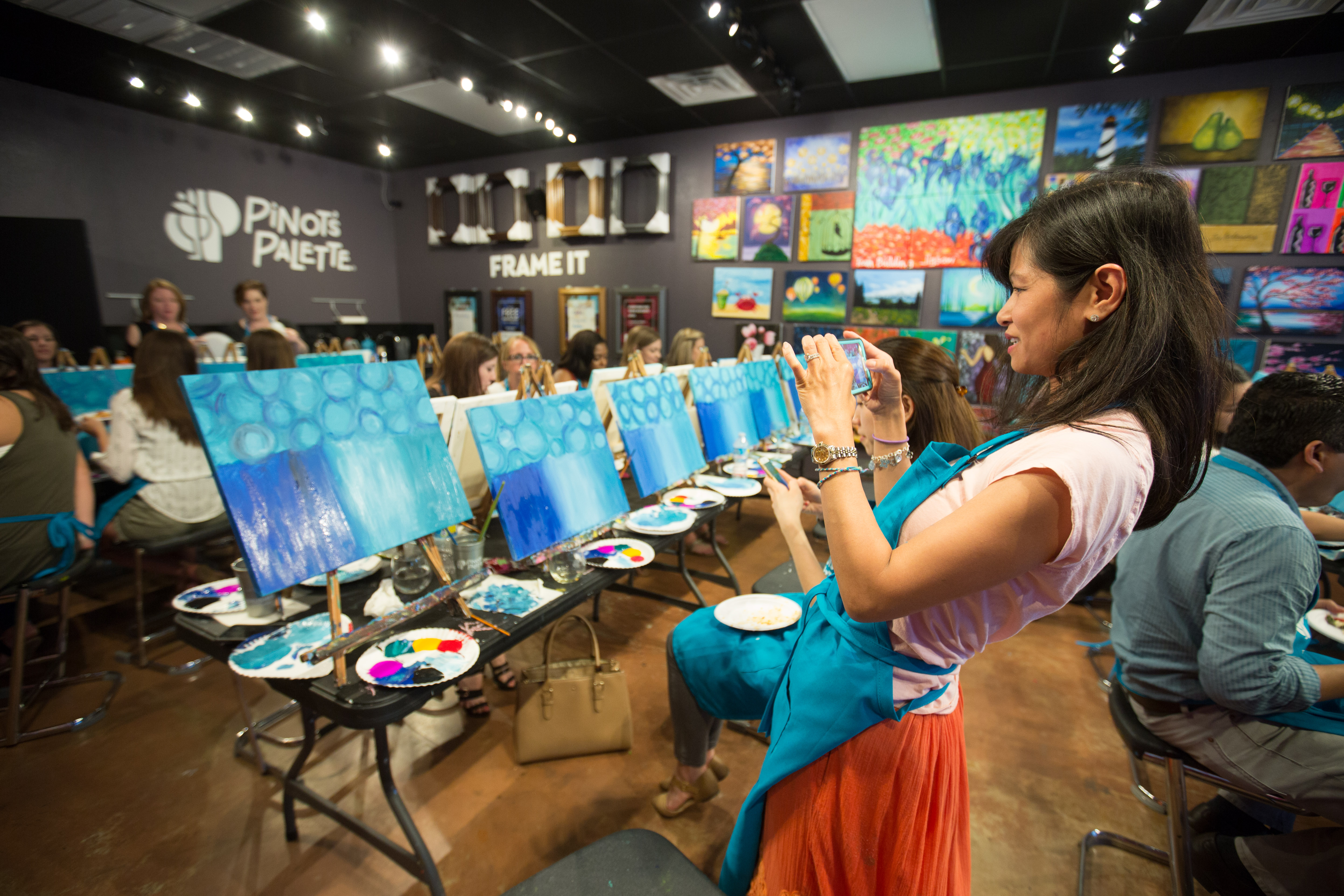 stimulating art classes in Plano