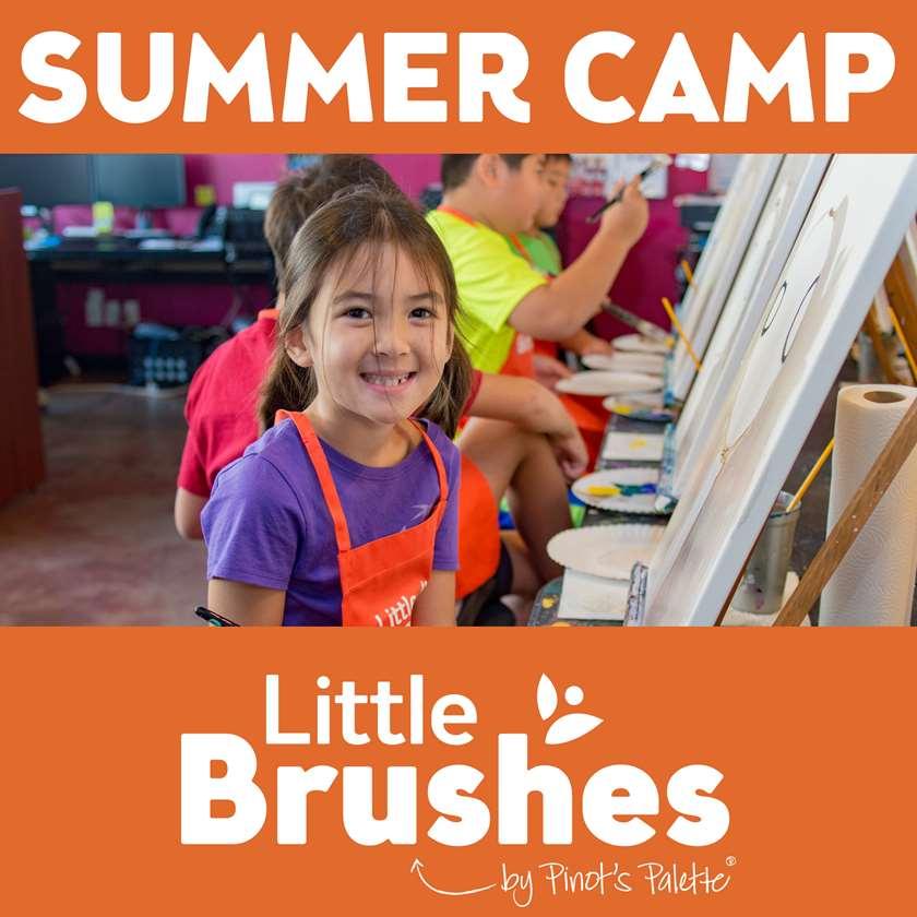 Little Brushes Summer Art Week - Christmas in July!