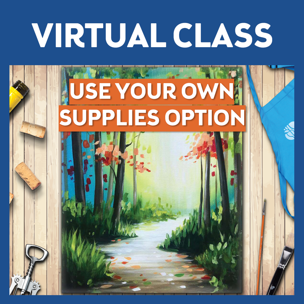 Virtual Class - Link only - No Supplies included