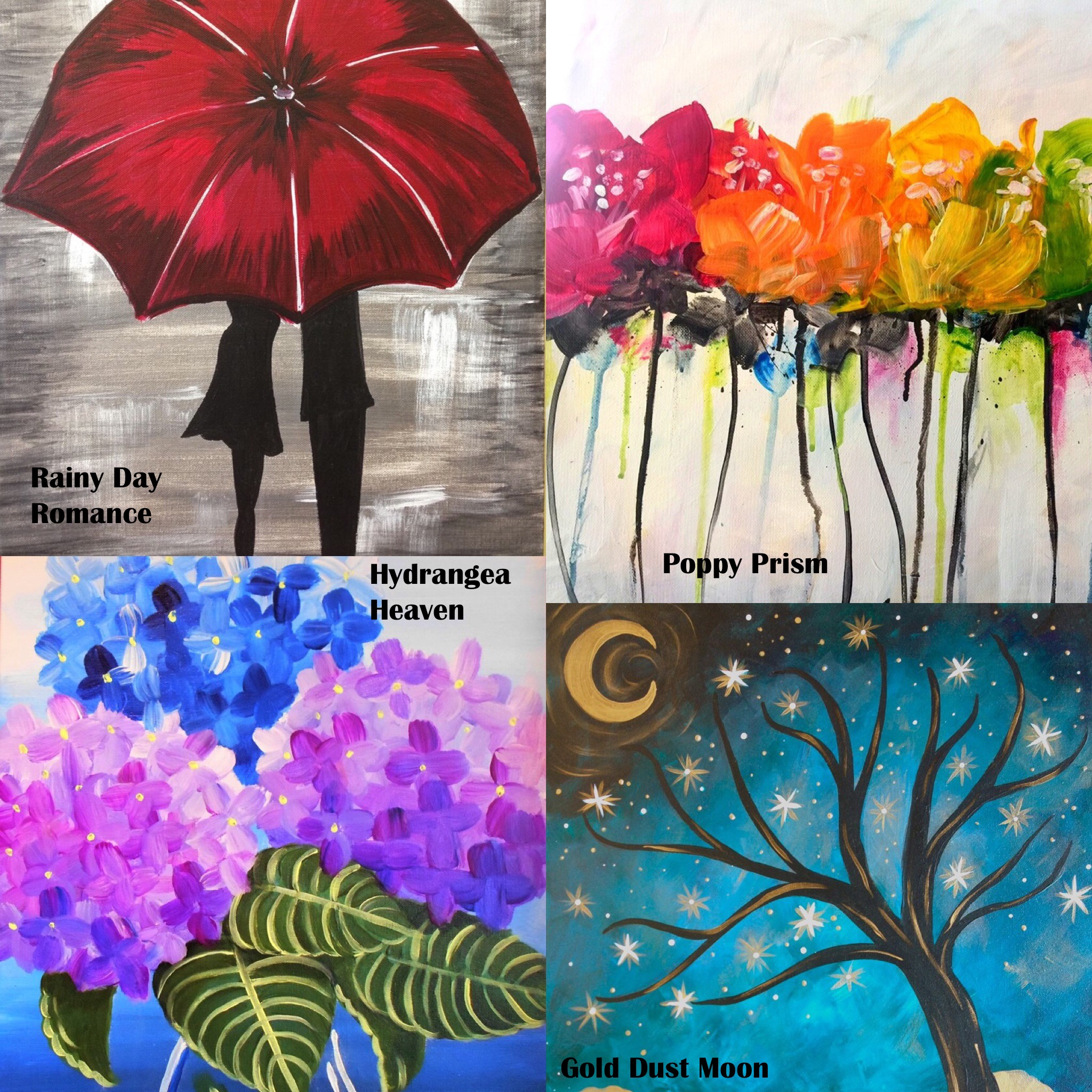 This Week at Your Neighborhood Paint and Sip Studio