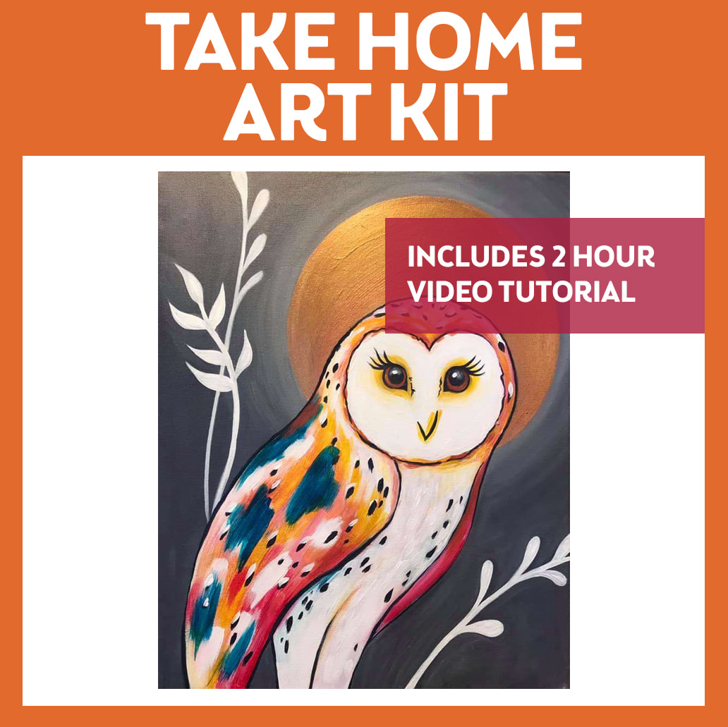 TAKE HOME ART KIT WITH VIDEO TUTORIAL