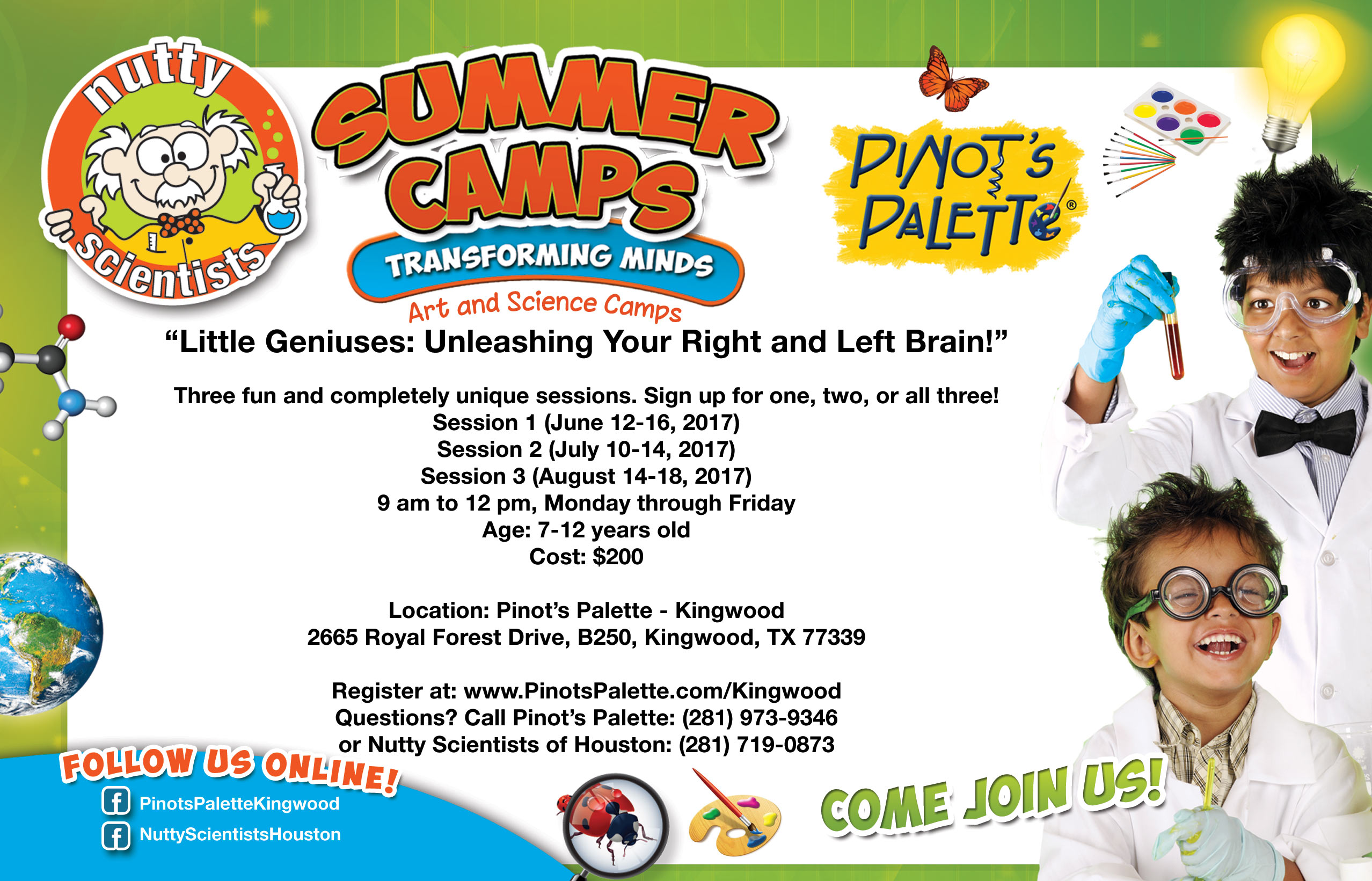 2017 Summer Art and Science Camp