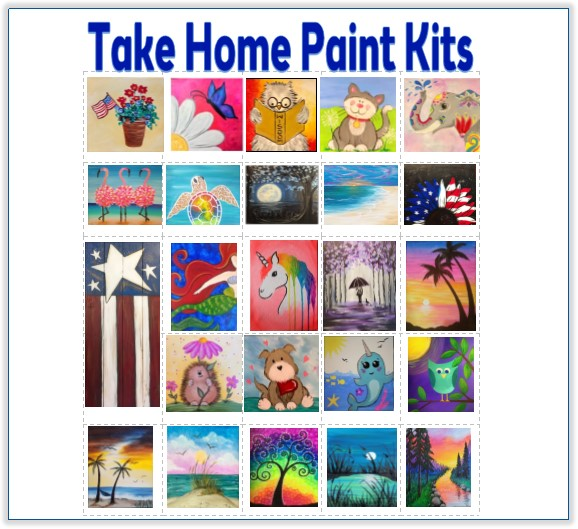 Take home painting Kit