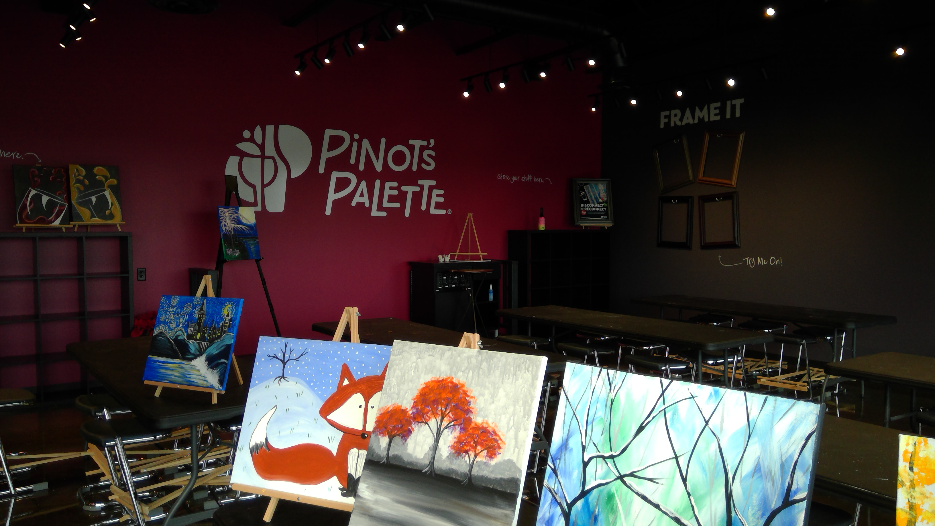 Welcome to Pinot Palette La Vista