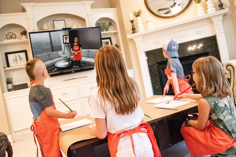 Virtual Painting Classes, Take Home Paint Kits? Tell me More…