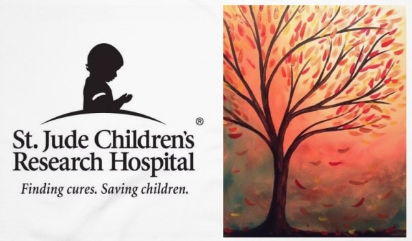 Painting it Forward for St. Jude's Children's Research Hospital