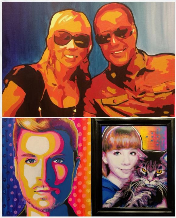 Pop Art Selfie