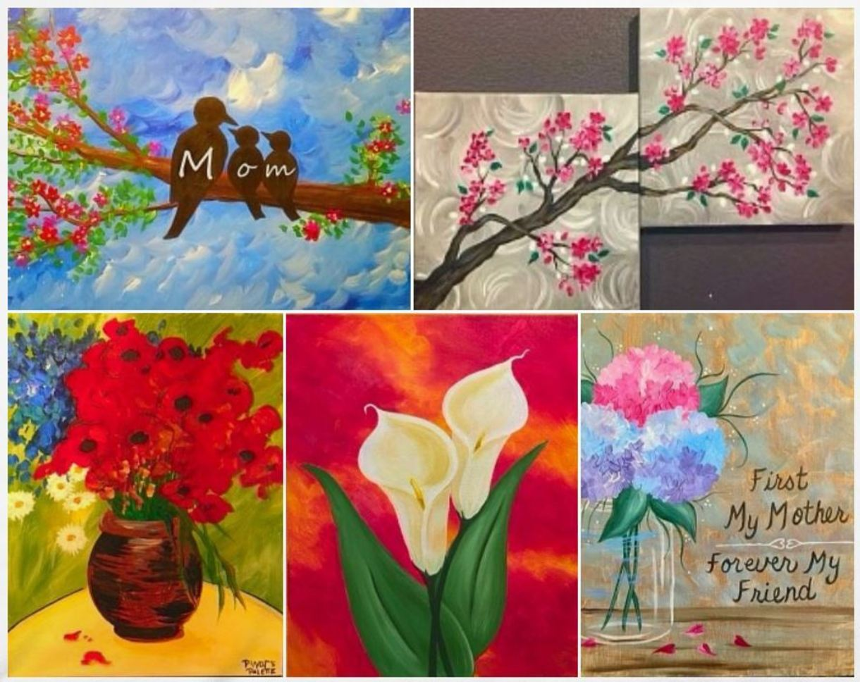 Customize Your Painting To Reflect Family Mom Gma Mama Add Birds Or Subtract Them For A Fantastic Mother S Day Gift