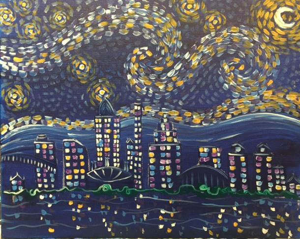 Starry Night Cincinnati