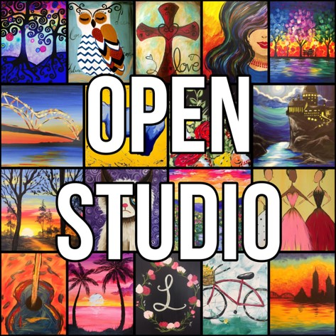 Open Studio with Freestyle Paint & Sip