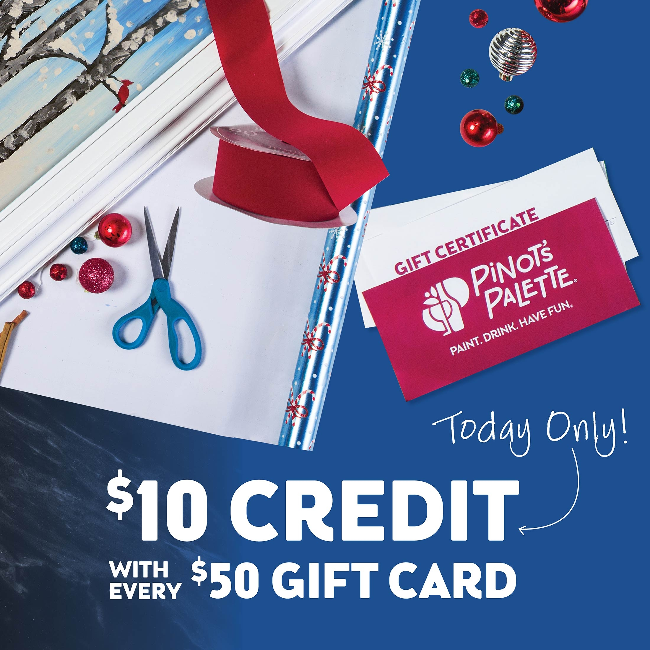 Bonus credit with every $50 Gift Certificate