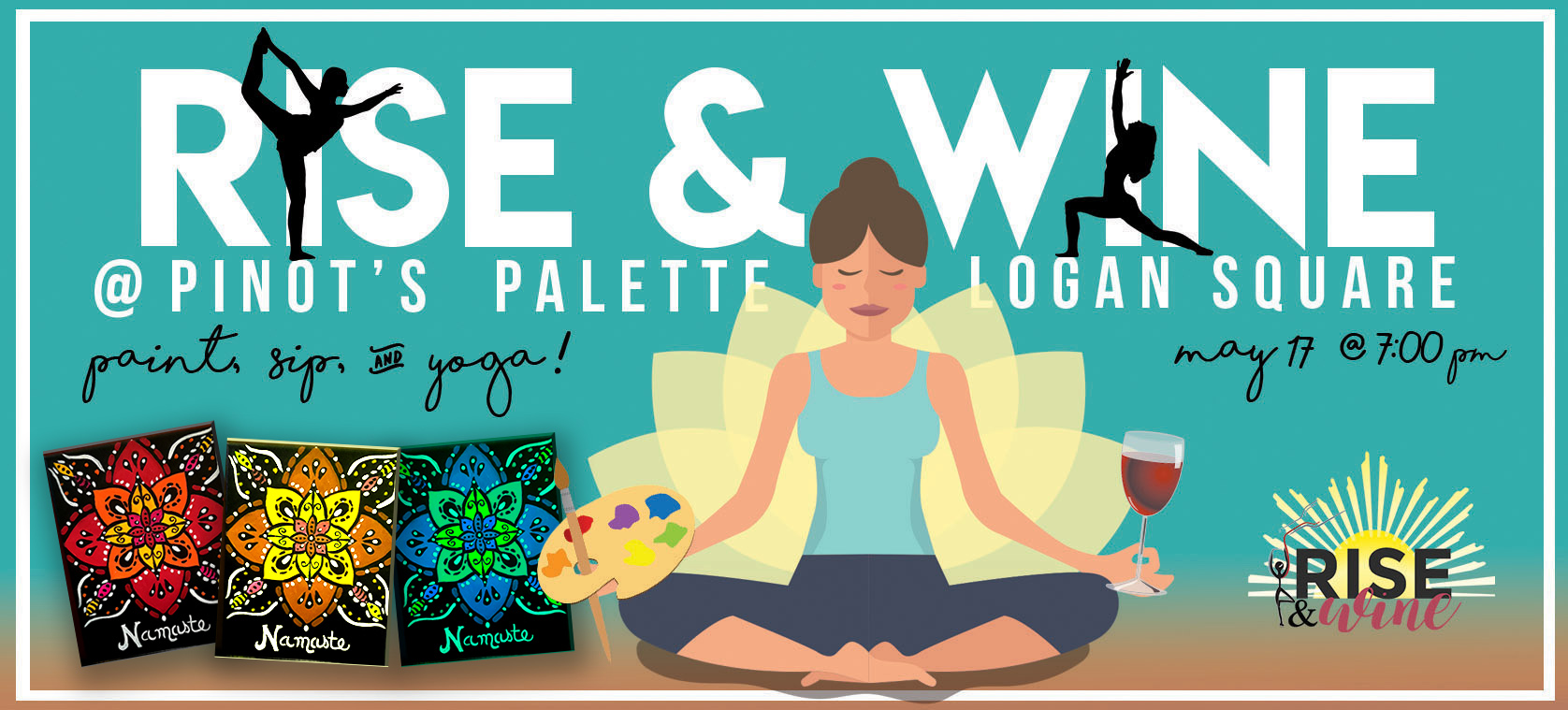 Your Mindfulness Dream Team: Wine, Painting, and Yoga!
