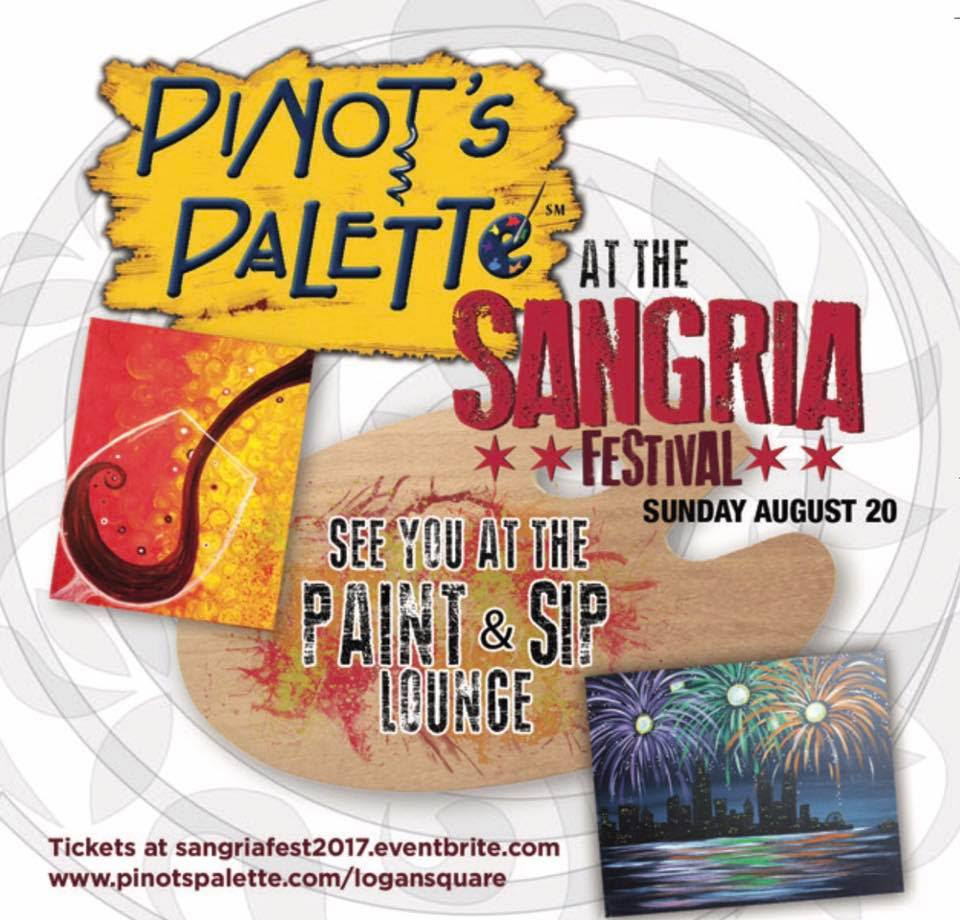 Paint & Sip Lounge at Sangria Fest