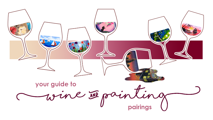 Wine and Painting Pairings for August