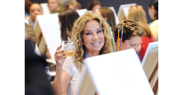 Kathie Lee Paints With Pinot's