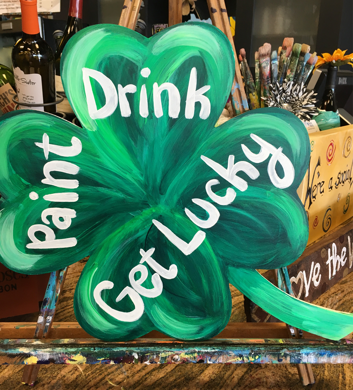 St. Patrick's Day at Pinot's Palette
