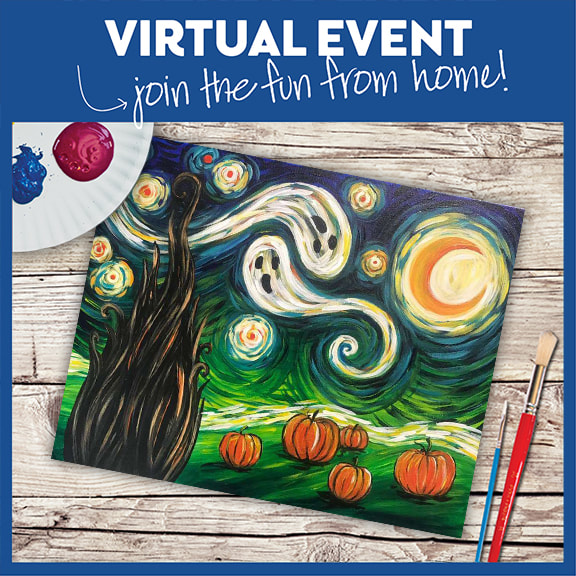 Van Gogh's Starry Night - Halloween