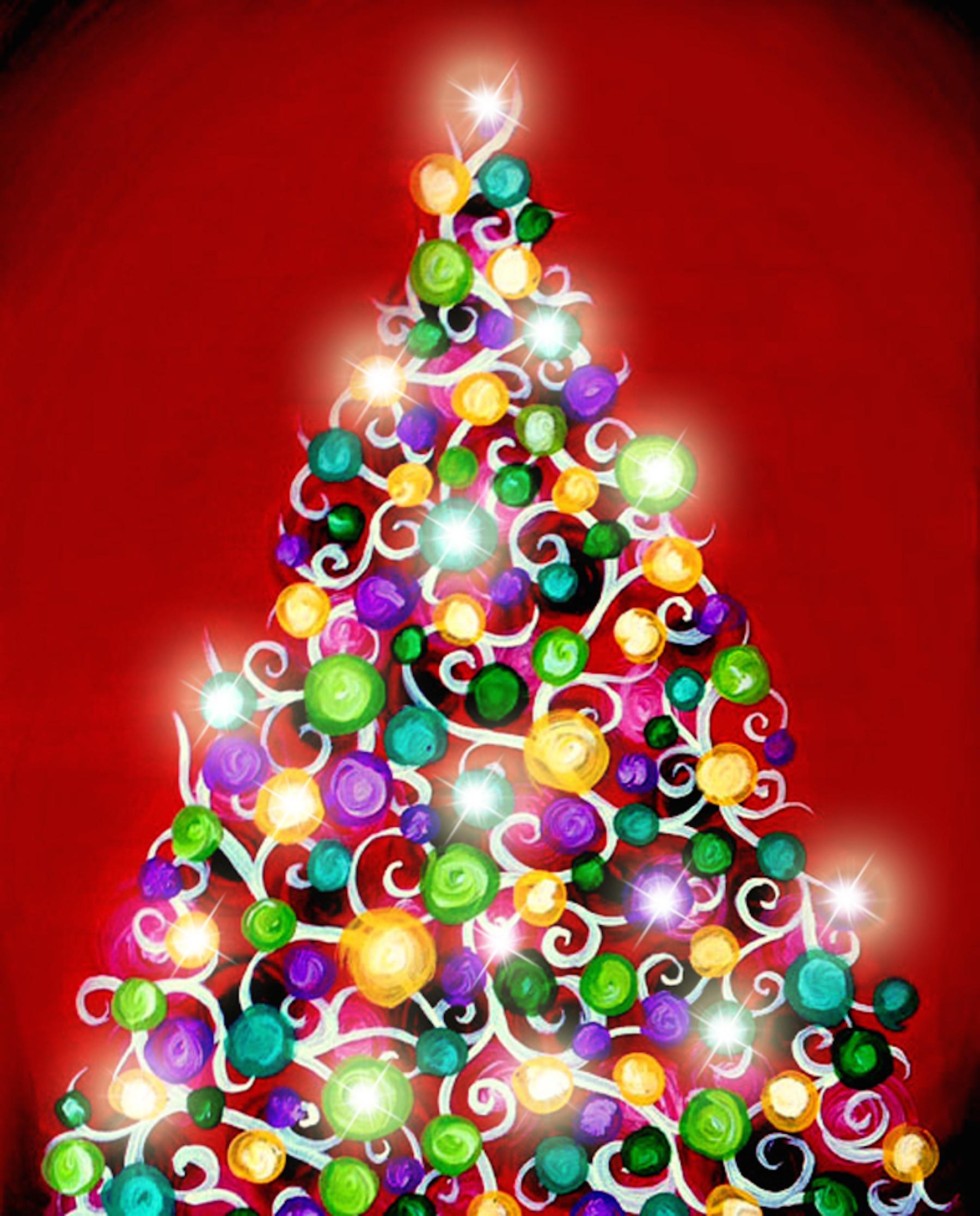 Jolly Christmas Lights - Illuminated!