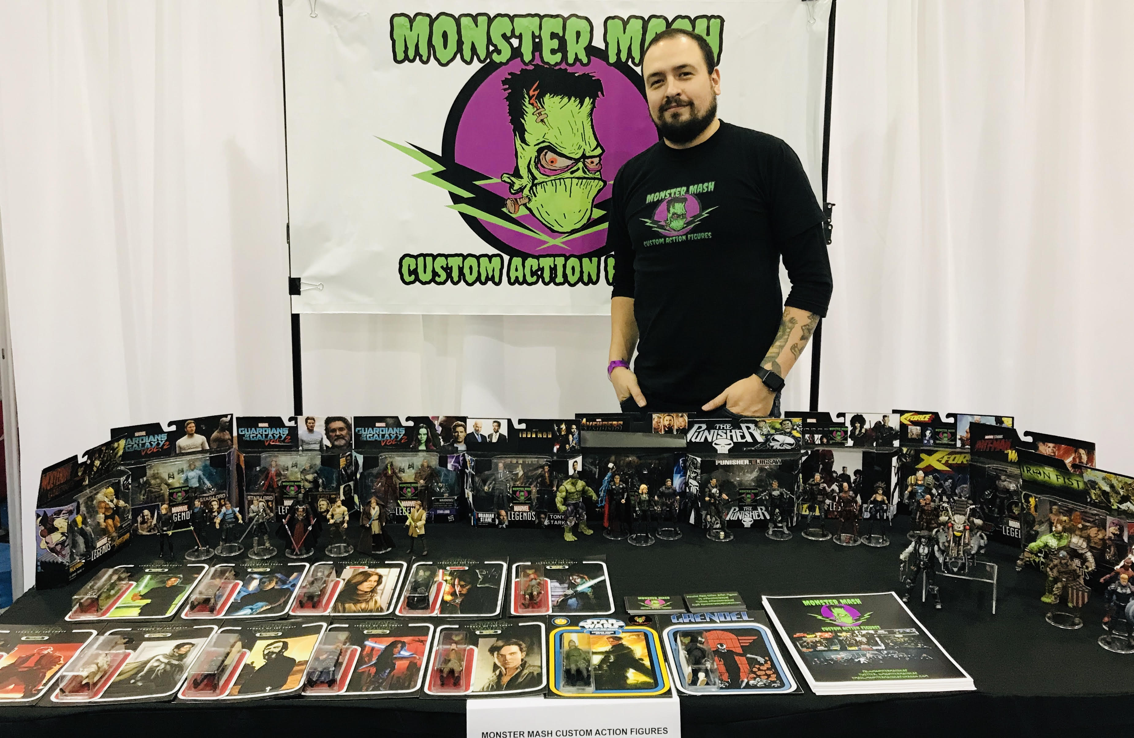 MEET THE ARTISTS: MonsterMash Ken