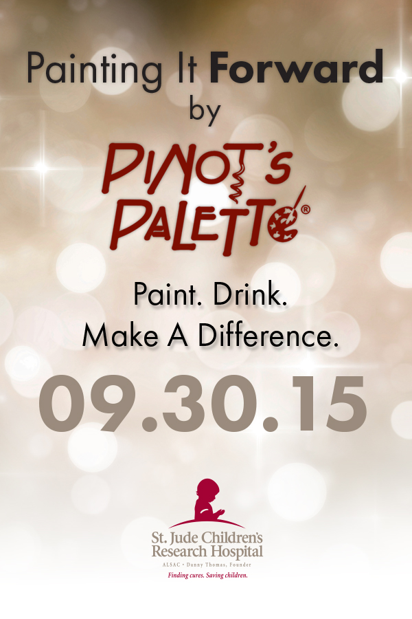 Paint in Support of St. Jude Children's Hospital