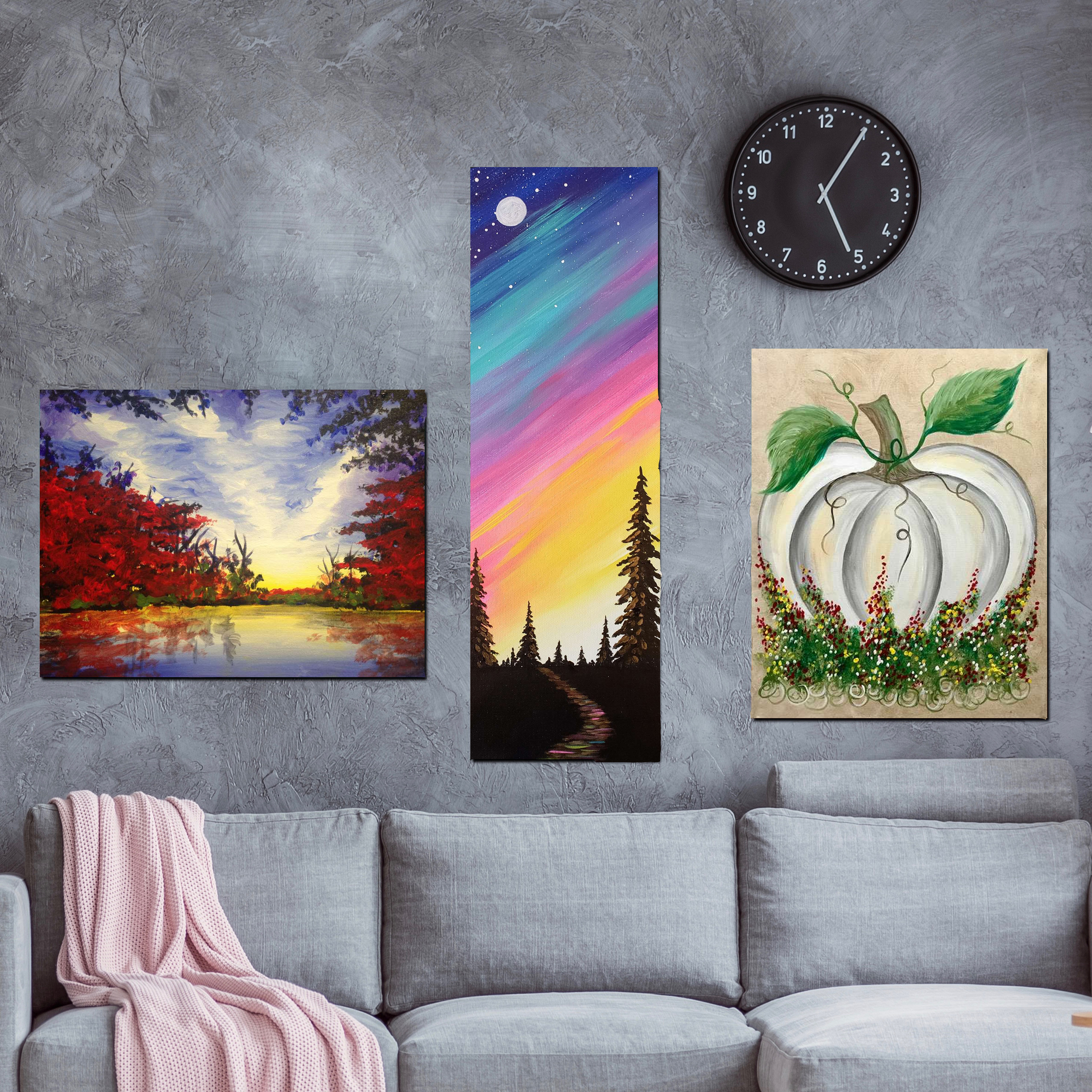 Fall Decor Paintings