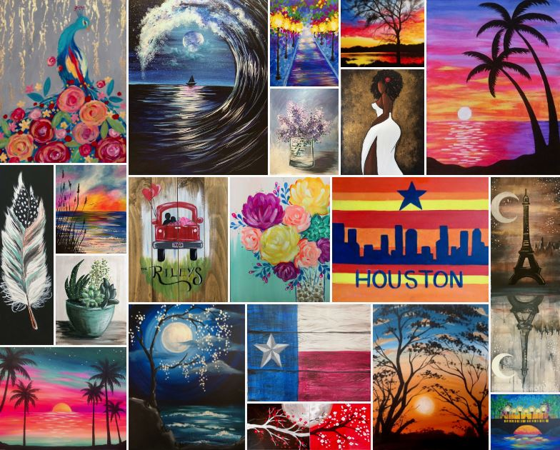 March Painting Calsses in Houston