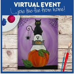 VIRTUAL EVENT! PAINT AT HOME! $30!