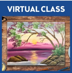 VIRTUAL EVENT! PAINT AT HOME!