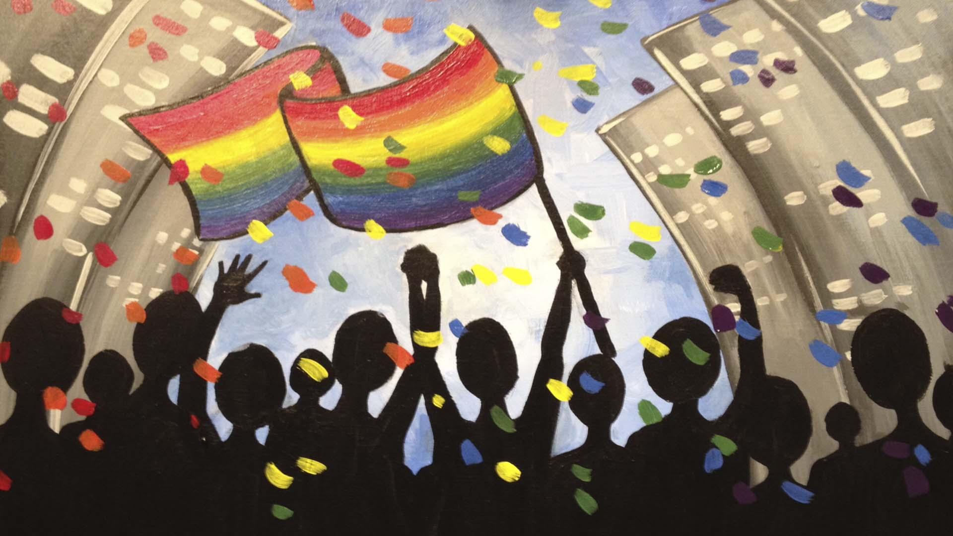 Orlando Pulse Paint It Forward #WeAreOrlando